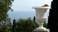terrace overlooking the sea video