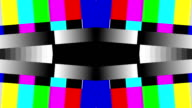 TV test lines color bars pattern HD 1080 video