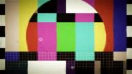 TV Test, seamless loop video