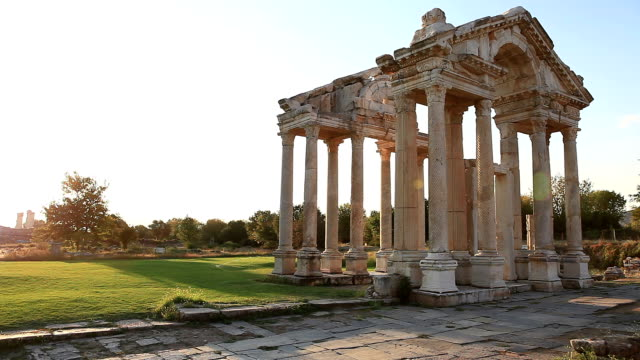 HD: Tetrapylon of Aphrodisias video