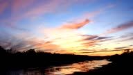 Texas Hill Country Sunset video
