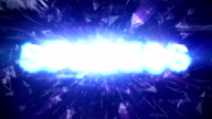 SUCCESS Text Animation Explosion, Rendering, Background, with Final Explosion and Green Screen, Loop video