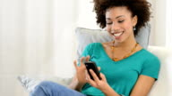Text message with smart phone video