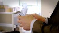 Text office walk video