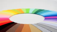 Textile background. video
