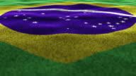 BRAZIL, Textile Carpet Background, Still Camera, Loop video