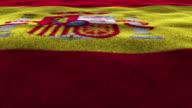 SPAIN, Textile Carpet Background, Still Camera, Loop video