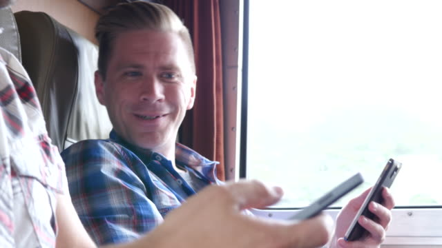 Texting on the train video