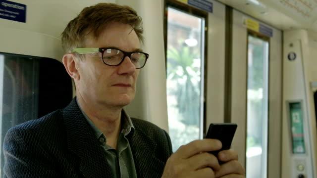 Texting train video