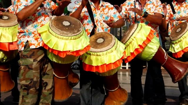 Thai drum video