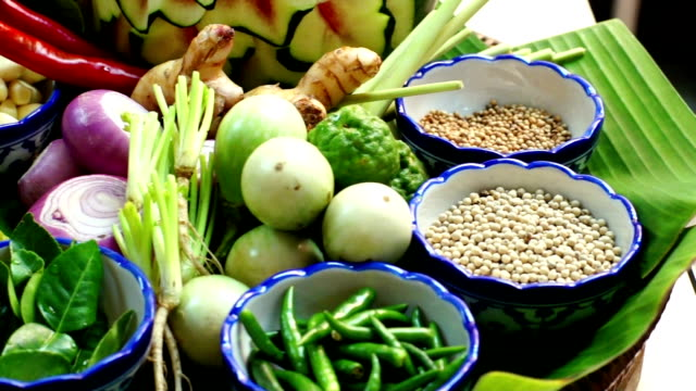 Thai Food Ingredients video