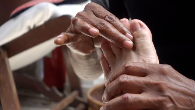 Thai Foot Massage. video