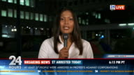 HD: Thai Journalist Reporting Live On Location video
