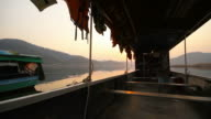 Thai Local Boats and Water Transportation in Thailand video