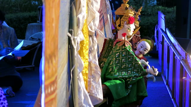 Thai puppet video