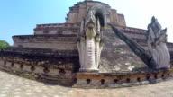 Thai Temple Wat Chedi Luang video