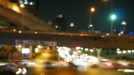 Thai-Japanese Bridge and traffic in Bangkok video