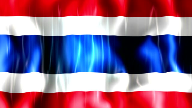 Thailand Flag Animation video