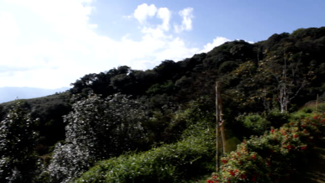 Thailand Mountain view panorama video