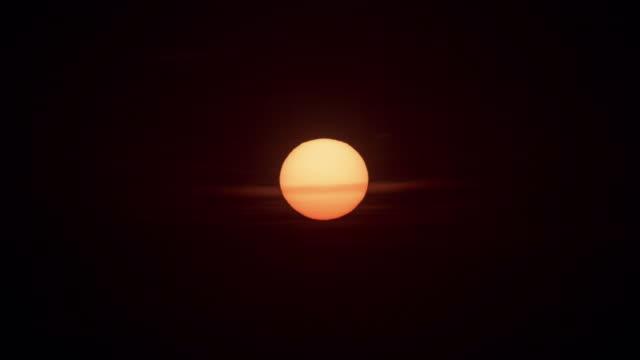 thailand sunset sunrise sun close up phuket island 4k time lapse video