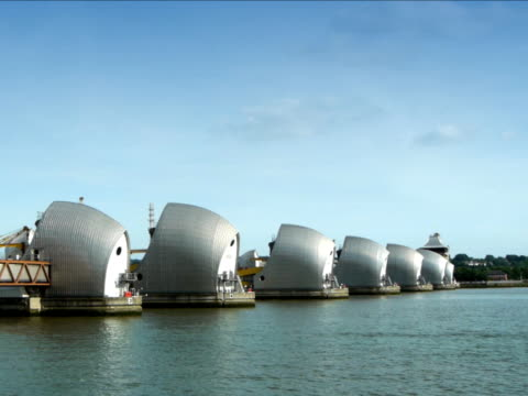 Thames Barrier video