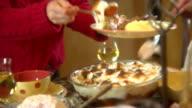 Thanksgiving Christmas Dinner video