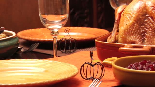 Thanksgiving Dinner video