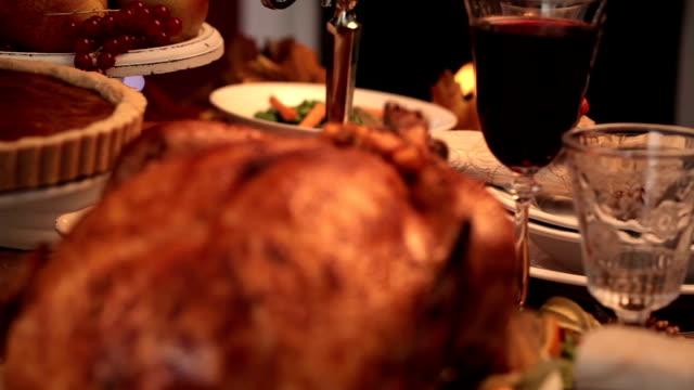 Thanksgiving Turkey Dinner video