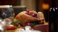 SLO MO Thanksgiving turkey video