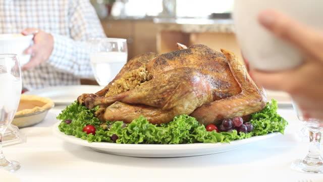 Thanksgivng turkey dinner video