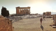 The Acropolis in Athens video