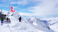 The Aletsch Glacier view from Eggishorn video