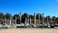 HD: The Ancient City 'Nysa (Caria)'  South Agora video
