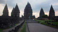 The Ancient Prambanan Temples in Java, Indonesia video