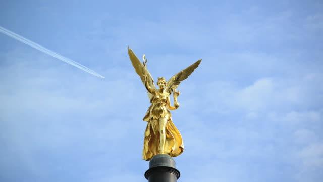 The angel of peace 'Friedensengel ' in Munich video