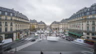 The Avenue de l'Opera National de Paris (timelapse) video