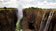 The awe inspiring Victoria Falls video
