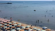 The Beach of Durres, Albania video