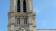 The beautiful architecture of the Notre Dame Cathedral video