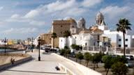 the beautiful city of cadiz, south spain video