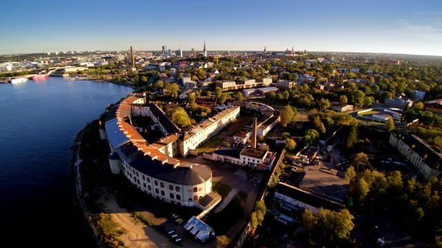 The beautiful city of Kopli in Tallin video