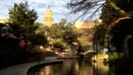 The beautiful Riverwalk in San Antonio video