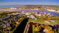 The beautiful seaside city of Parnu in Estonia video