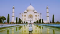 The Beautiful Taj Mahal In Agra video