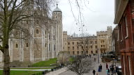 The beautiful view of the tower of London video