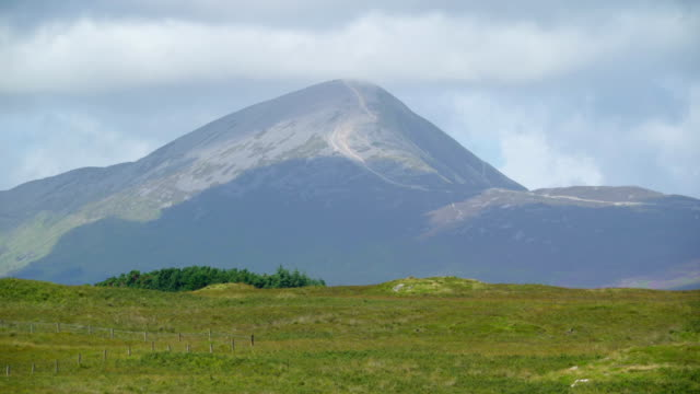 The beautifuls landscape of the mountain Ireland video