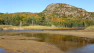 The Beehive autumn reflections, Acadia National Park, Maine video