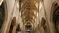 The Bern Minster, a Swiss Reformed cathedral in the old city of Bern video