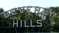 The Beverly Hills sign video