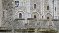 The big brick-walled tower of London video